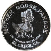 Medal - Mother Goose Parade (El Cajon Chamber of Commerce) – revers