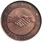 Medal - Mother Goose Parade (El Cajon Chamber of Commerce) – avers