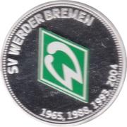 Jeton - Werder Bremen 50 Jahre Bundesliga – avers
