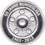 Jeton - Werder Bremen 50 Jahre Bundesliga – revers