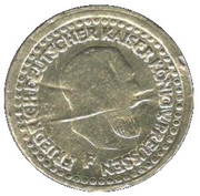 Spiel Mark (Friedrich Kaiser v. Preussen) – avers