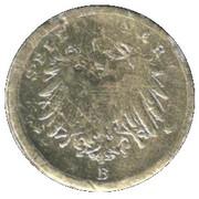 Spiel Mark (Friedrich Kaiser v. Preussen) – revers