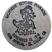 Medal - Mother Goose Parade (International Numismatic Society of San Diego) – revers