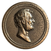 Medal - George Washington and Abraham Lincoln – revers