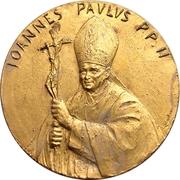 Pope John Paul II - Visit to India – avers