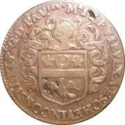 Jeton - Villes et noblesse - Jean Le Vieulx, premier échevin et consul, receveur général des pauvres – avers