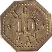 10 centimes UCM – avers