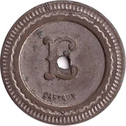 10 centimes AUTOM ques OUDIN – revers