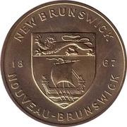 Shell Médaille - New Brunswick - Purple Violet – revers