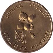 Shell Médaille - New Brunswick - Purple Violet – avers
