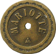 10 centimes - Mariotte – avers