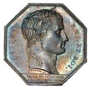 Jeton Napoléon Ier Chambre de commerce d'Amiens 1804 – avers