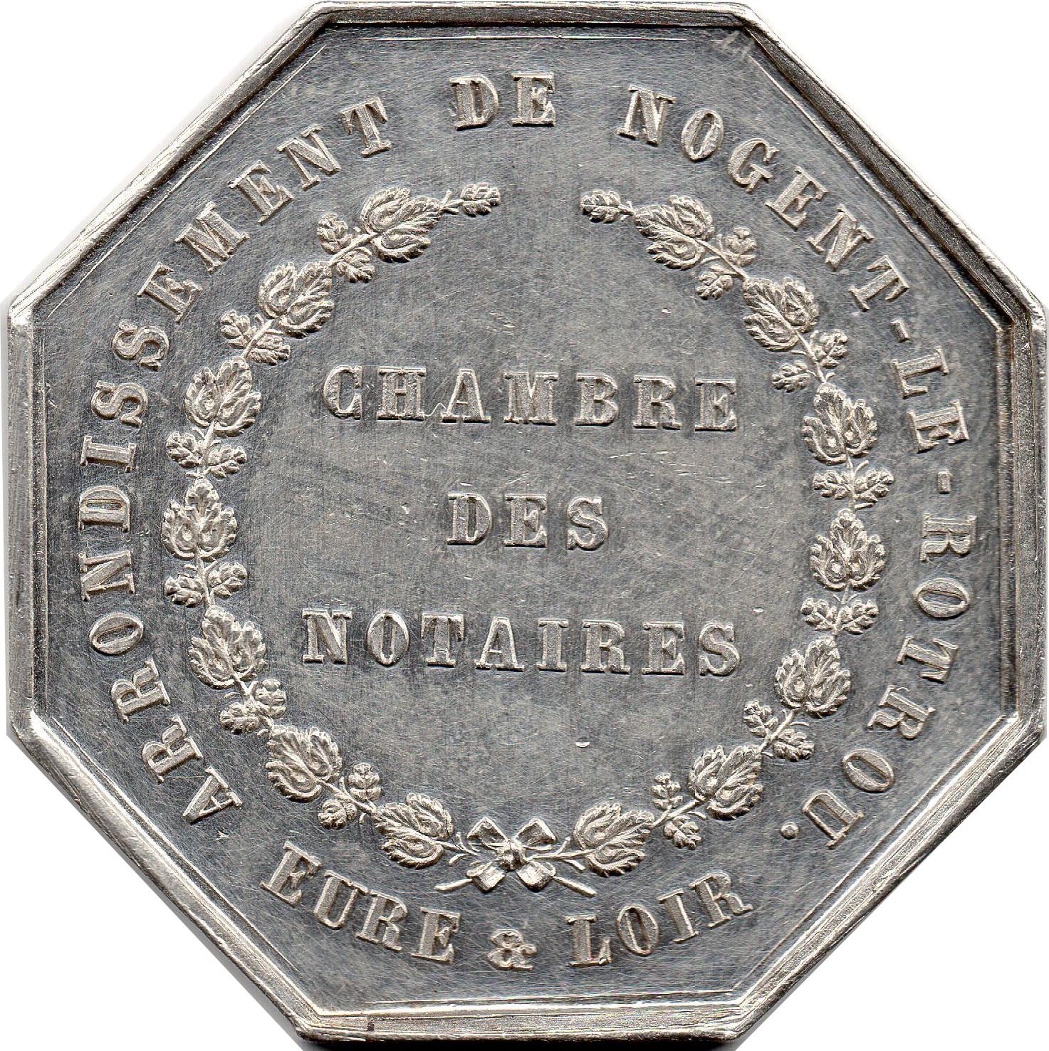 Jeton de la chambre des notaires d 39 eure et loir jetons - Chambre interdepartementale des notaires de paris ...