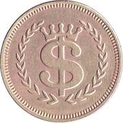 Val's International USA token – revers