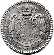 Jeton des Etats de Bretagne 1784 – revers