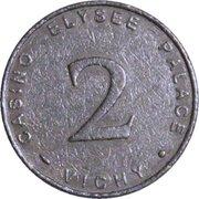 Casino Elysée Palace Vichy (03) - 2 francs – avers
