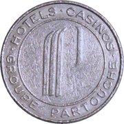 Casino Elysée Palace Vichy (03) - 2 francs – revers