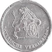 token Vereinsbank Starnberg – revers