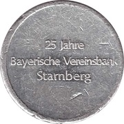 token Vereinsbank Starnberg – avers