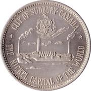 "Sudbury ""Big Nickel"" Medallion – revers"