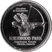 Sherwood Park Trade Dollar – revers