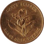Médaille - Île-du-Prince-Edouard - Sabot de la Vierge – avers