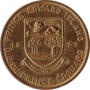 Médaille - Île-du-Prince-Edouard - Sabot de la Vierge – revers