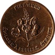 Médaille - Térritoire du Yukon - Epilobe à feuille étroite – avers