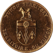 Médaille - Térritoire du Yukon - Epilobe à feuille étroite – revers