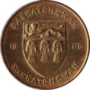 Médaille - Saskatchewan - Lis de la prairie – revers