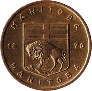 manitoba 1870 – revers