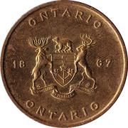 Canada Ontario Medal 1867 – revers