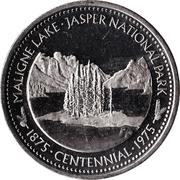 Jasper, Alberta - Souvenir Dollar – avers
