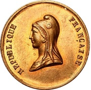 Jeton Fête du Champ de Mars - 14 mai 1848 – avers