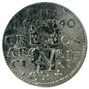 Aboa Vetus handmade replica coin – revers