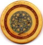 5 Francs (avec filigrane argent) - Casino de Monte-carlo – avers