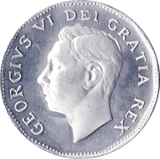 The Big Nickel Token (Aluminium) – avers