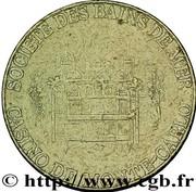 5 Francs - Casino de Monte-carlo – avers