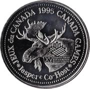 1 dollar JASPER 1995 -  avers