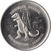 Drumheller, Alberta - Dinosaur Dollar – revers