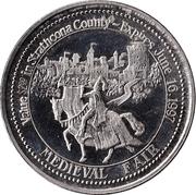 Strathcona County, Alberta - Trade Dollar – avers