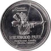 Strathcona County, Alberta - Trade Dollar – revers