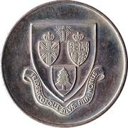 Fredericton, New Brunswick - 125th Anniversary Medallion – avers