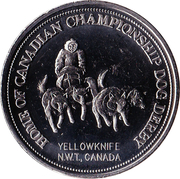 Yellowknife, North-West Territories - One Dollar – avers