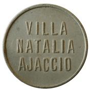1 Franc - Villa Natalia - Ajaccio [2A] – avers