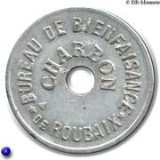 Charbon - Bureau de Bienfaisance - Roubaix [59] – revers