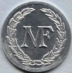 2 francs m f manufacture fran aise d 39 armes et cycles saint etienne 42 jetons numista - Mobilier jardin d ulysse saint etienne ...