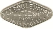 Bon pour une danse - A la Boule Rouge - Paris [75] – avers