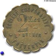 2 Kilos Société Coopérative l'Avenir Fréventin - Frévent [62] – avers