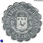 25 Centimes - Brulerie du Kursaal - Mazamet [81] – avers
